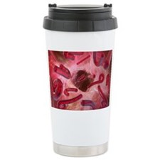 Ebola viruses, artwork Travel Mug