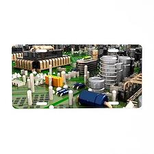 Circuit board, artwork Aluminum License Plate