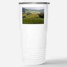 Costa Rica fields Travel Mug