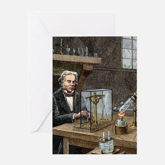 Faraday's electrolysis experiment, 1 Greeting Card