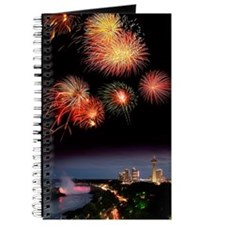 Fireworks display over Niagara Falls Journal