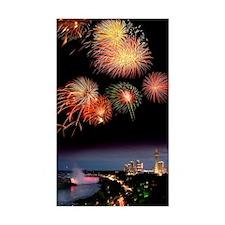 Fireworks display over Niagara Decal