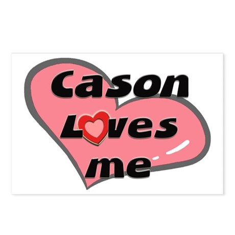 cason loves me Postcards (Package of 8)