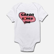 cason loves me  Infant Bodysuit