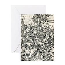Four Horsemen of the Apocalypse Greeting Card