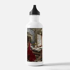 Galileo using a telesc Water Bottle