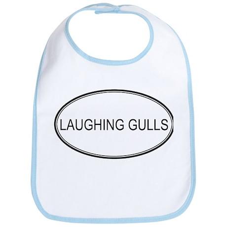 Oval Design: LAUGHING GULLS Bib