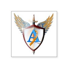 """Ashers coat of arms Square Sticker 3"""" x 3"""""""