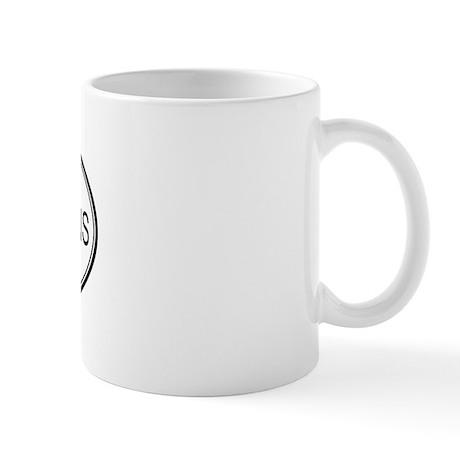 Oval Design: PURPLE MARTINS Mug