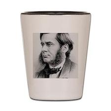 Engraving of biologist Thomas Huxley, i Shot Glass