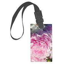 peony blossoms Luggage Tag