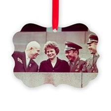 Krushchev, Tereshkova, Nikolayev, Ornament