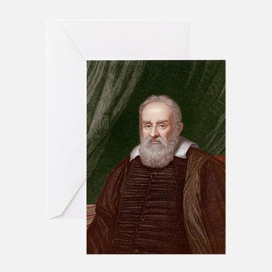 Galileo Greeting Card