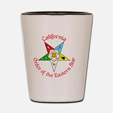California Eastern Star Shot Glass