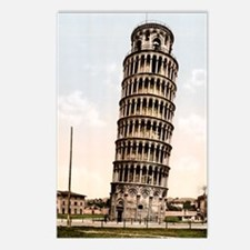 Vintage Leaning Tower Of  Postcards (Package of 8)