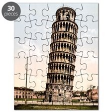 Vintage Leaning Tower Of Pisa Puzzle