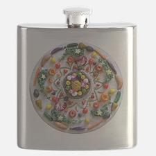 Veg and Fruit Mandala Flask