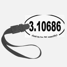 Running 5K Spoof 3.1 Luggage Tag