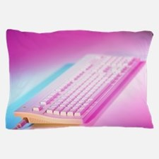Keyboard from an Apple MacIntosh compu Pillow Case