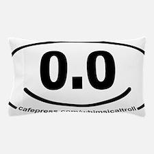 Running 13.1 Spoof 0.0 Smiley Pillow Case