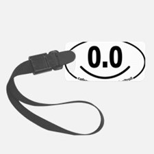 Running 13.1 Spoof 0.0 Smiley Luggage Tag