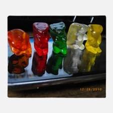 Gummy Bear Friends Throw Blanket