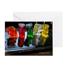 Gummy Bear Friends Greeting Card