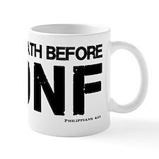 Death before DNF- Philippians 4:13 Mug