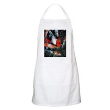 Koi carp in a pond Apron