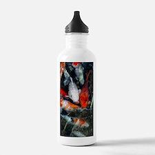 Koi carp in a pond Water Bottle