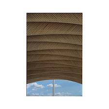 Kuwait Pavilion Rectangle Magnet