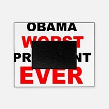 anti obama worst presdarkbumplL Picture Frame