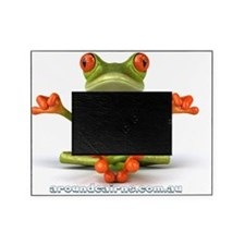 Around Cairns Zen Frog Picture Frame