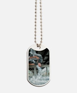 AUPK Wall Spin Dog Tags
