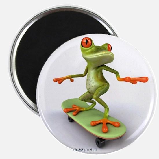 Around Cairns Skater frog Magnet