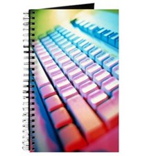 Keyboard of a computer Journal