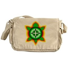 SOUTHEASTERN TRIBAL TURTLE Messenger Bag