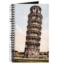 Vintage Leaning Tower Of Pisa Journal