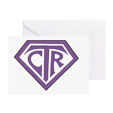 Royal CTR emblem Greeting Card