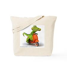 Around Cairns Croc on a Vespa Tote Bag