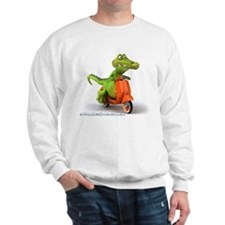 Around Cairns Croc on a Vespa Sweatshirt