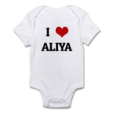 I Love ALIYA Infant Bodysuit