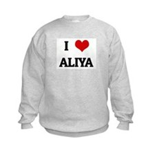 I Love ALIYA Jumpers