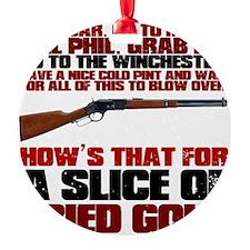 Winchester Shaun of the Dead Ornament