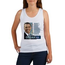 Obama 2012 - Change Adds Up Women's Tank Top