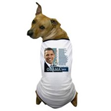 Obama 2012 - Change Adds Up Dog T-Shirt