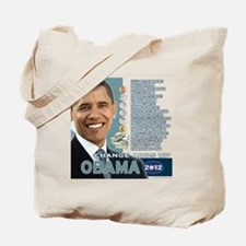 Obama 2012 - Change Adds Up Tote Bag