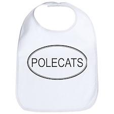 Oval Design: POLECATS Bib