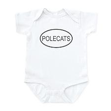 Oval Design: POLECATS Infant Bodysuit