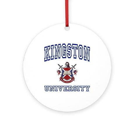 KINGSTON University Ornament (Round)